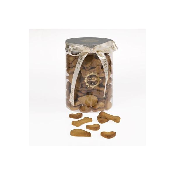 Dolcimpronte - Biscotti Mignon Misti in Vasetto Cilindrico 500gr. ( ASL Prot.0088901/16)