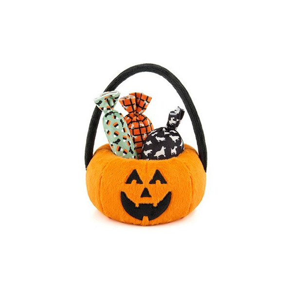 Play - Halloween Pumpkin Basket con 3 caramelle