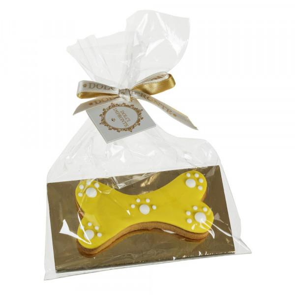 Dolcimpronte - Ossobiscotto Vaniglia (giallo)