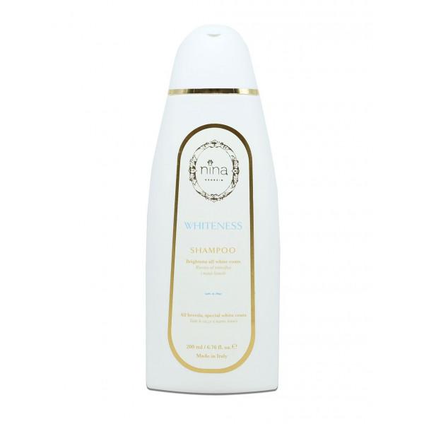 Nina Venezia® Whiteness - Shampoo Manti Bianchi - Flacone 200 ml