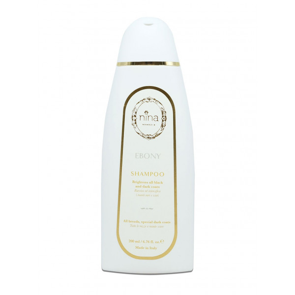 Nina Venezia® EBONY - Shampoo for Black Coats - 200 ml