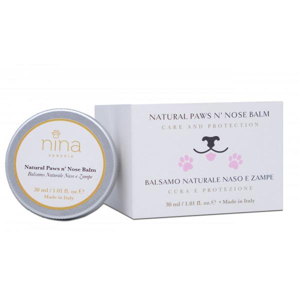 Nina Venezia® - NATURAL PAW - Crema Polpastrelli e Naso -30 ml-