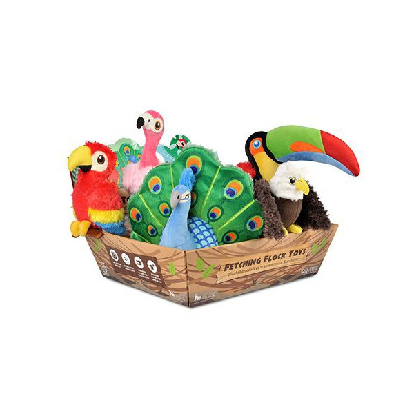 Play - Rare with Wings - Set 10 Dog Toys