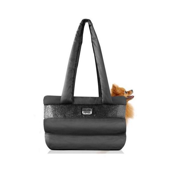 Milk&Pepper- Caspule Bag- 32x16x22h cm - Black