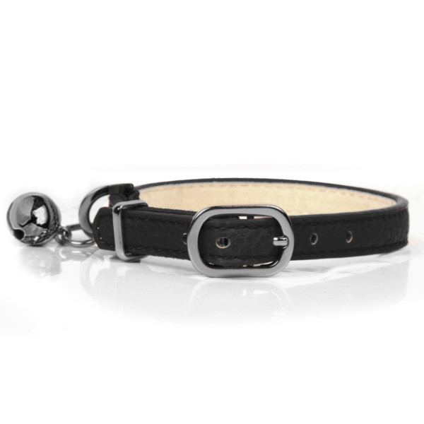Milk & Pepper- Cat - Berlioz Collar - Black
