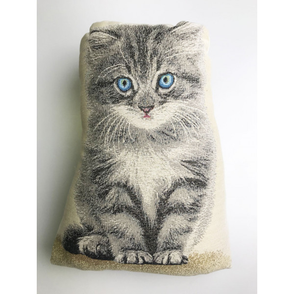 Doorstop - Kitten - Made in Italy - 30x8X40h cm
