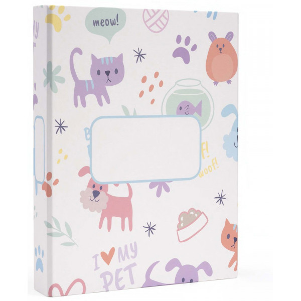 MYDOQS-Pet Document Binder - I Love MyPet - Made in Italy