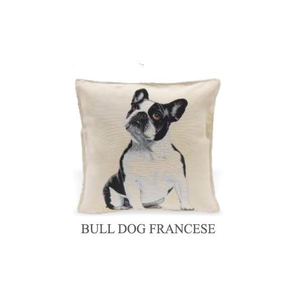 Cushion 40x40cm - Bulldog - Made in Italy