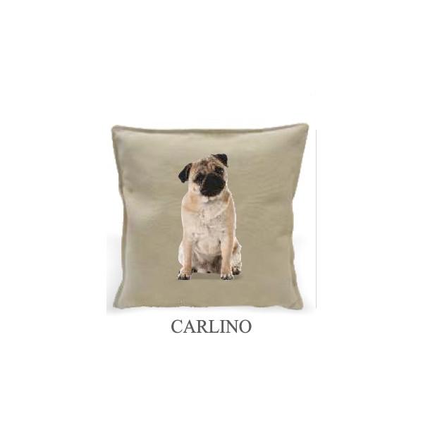 Cuscino 40x40cm - Carlino - Made in Italy