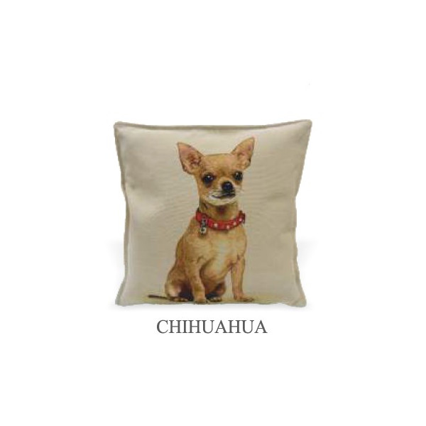Cuscino 40x40cm - Chihuahua- Made in Italy