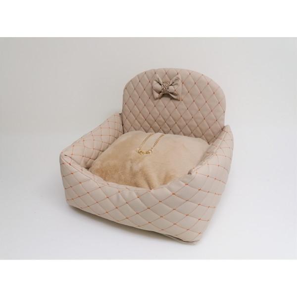 Eh Già - Car Bed Matelassè Beige - Made in Italy -