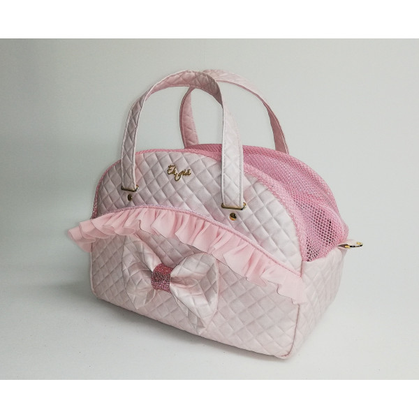 Eh Gia - Cuty Teo Pink Knot - 20x38x27h cm - Made in Italy -
