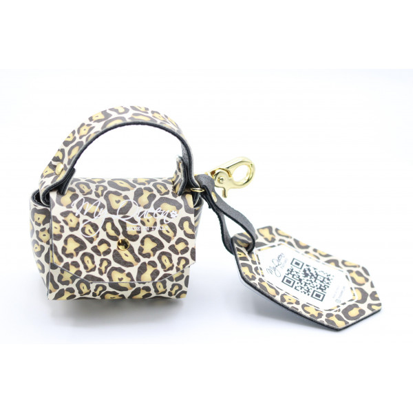 MQ- Mini Bag - Printed Faux Leather - Spotted-