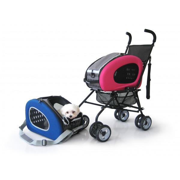 Innopet - Passeggino per Cani Buggy 5 in 1 - 8kg