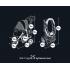 Fabric Stroller for Dogs Buggy Comfort EFA - black / gray -25 kg