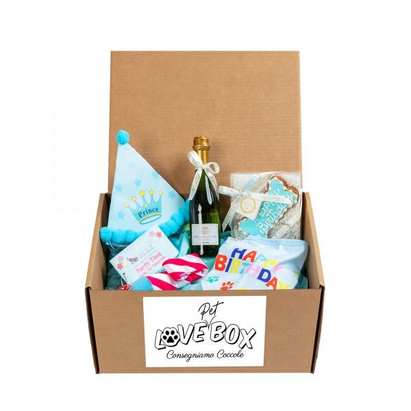 Love Pet Box- Tema Compleanno Lui