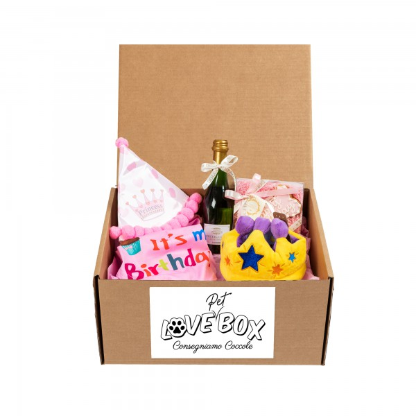 Love Pet Box - Tema Compleanno Lei