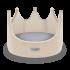 HC- Royal Bed Ivory 42X31h cm