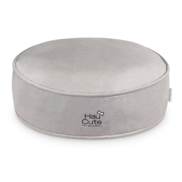 HC - Gray Pouf 72x27h cm