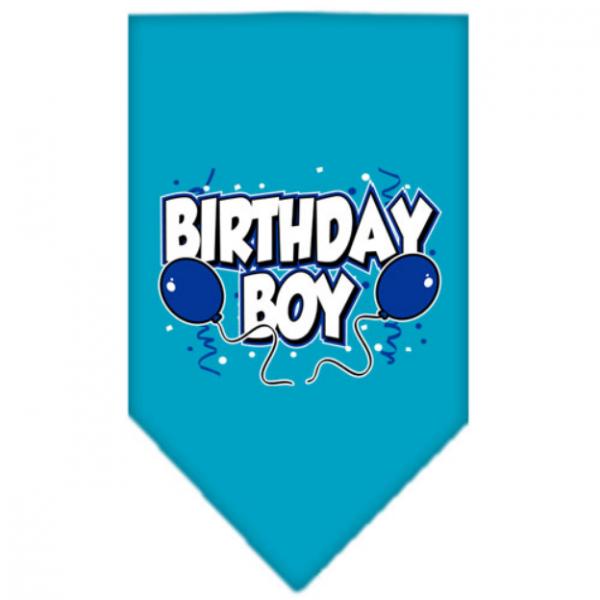 MR- Bandana Boy Turchese - Happy Birthday - S L
