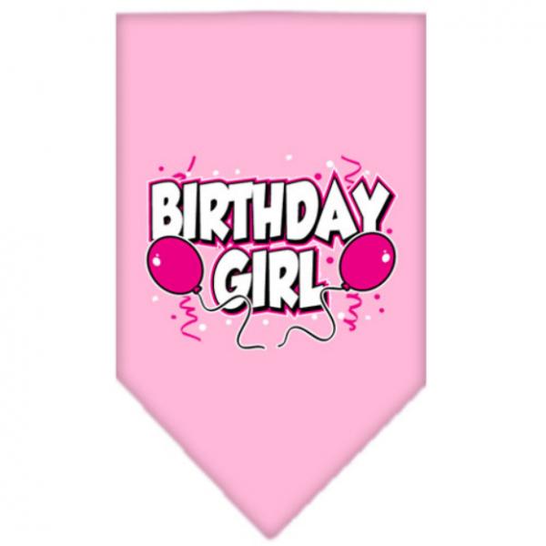 MR- Bandana Girl Rosa - Happy Birthday - S L-