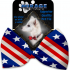 MR - Stars and Stripes Pet Bow Tie