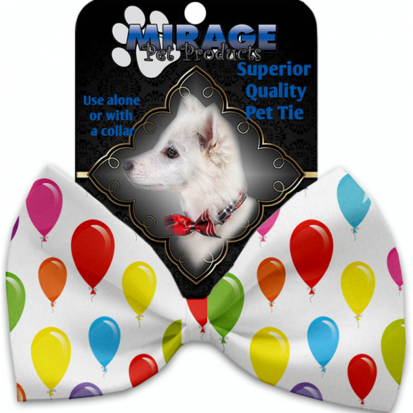 MR - Balloons Pet Bow Tie