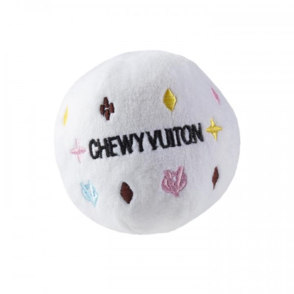 HDD- The White Chewy Vu Ball Small