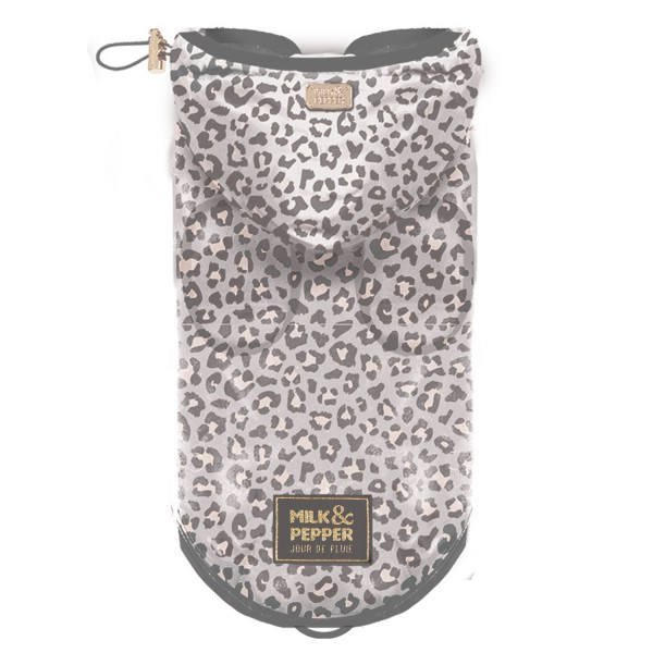 Milk & Pepper - Farah - Transparent Raincoat - Leopard