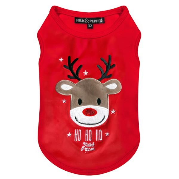 Milk & Pepper - T shirt - Reindeer - Stretch