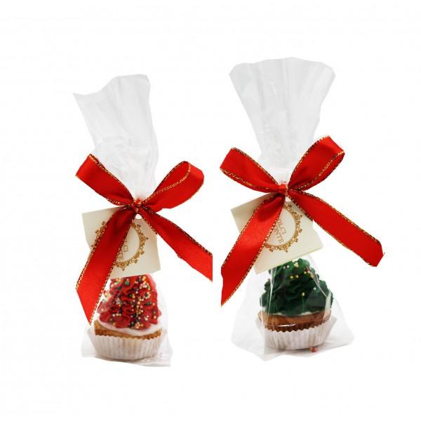 Dolci Impronte® -Xmas Cupcake - Rosso o Verde - 46gr