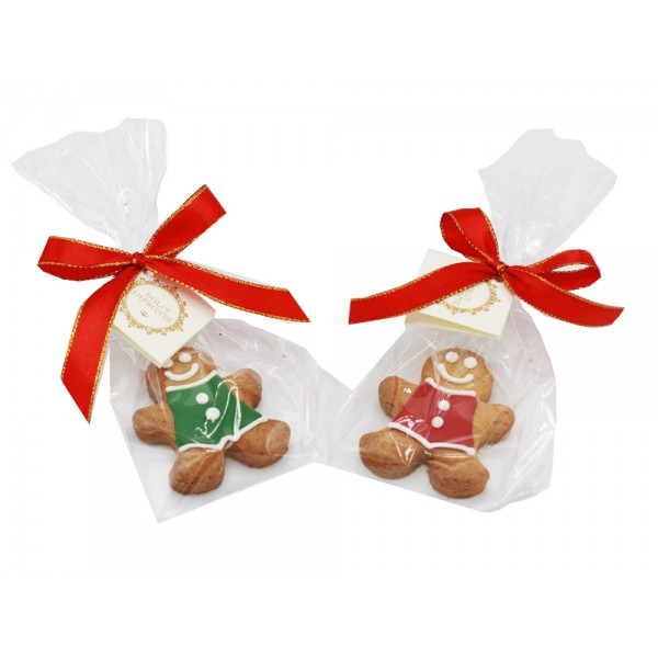 Dolci Impronte ® - Confezione due Ginger - Rosso e Verde - 24gr cad